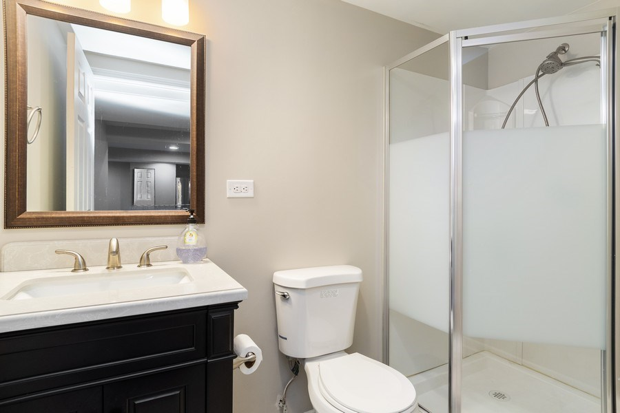 Real Estate Photography - 4924 Clearwater Ln, Naperville, IL, 60564 - 3rd Bathroom