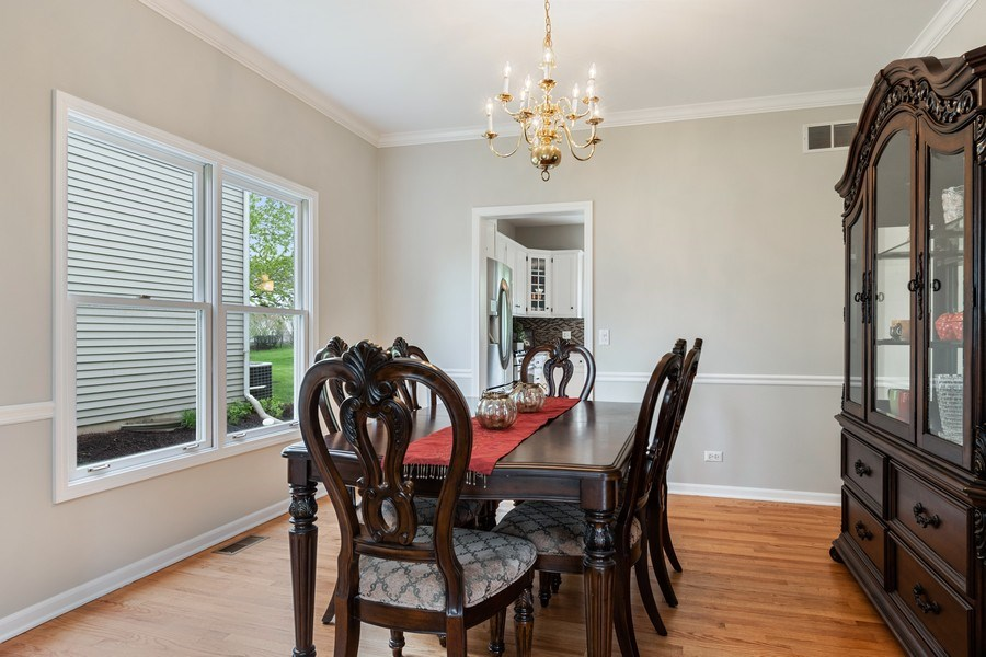 Real Estate Photography - 4924 Clearwater Ln, Naperville, IL, 60564 - Dining Room