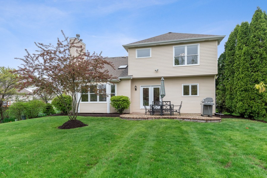 Real Estate Photography - 4924 Clearwater Ln, Naperville, IL, 60564 - Rear View