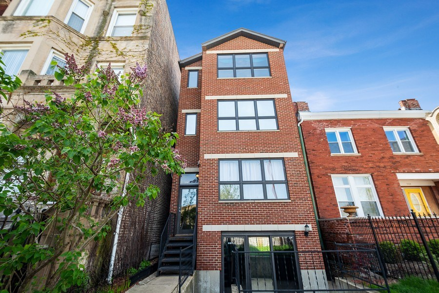 Real Estate Photography - 5516 S Indiana Unit 4, chicago, IL, 60615 - Front View