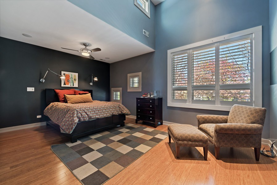 Real Estate Photography - 1651 W. Winona St., Chicago, IL, 60640 - 2nd Bedroom