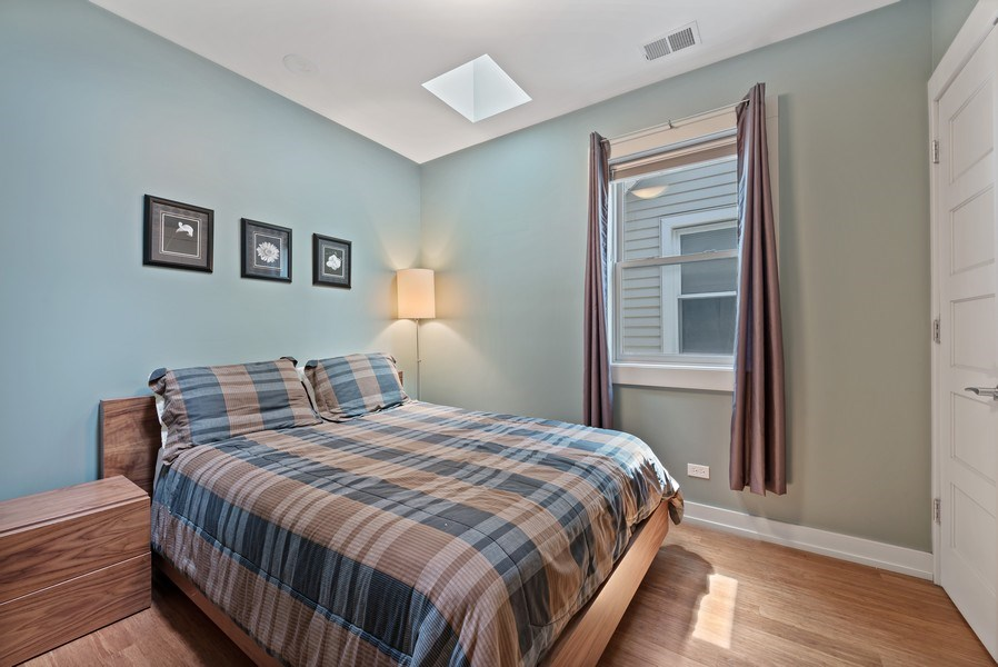 Real Estate Photography - 1651 W. Winona St., Chicago, IL, 60640 - 3rd Bedroom