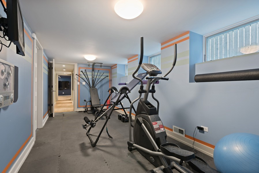 Real Estate Photography - 1651 W. Winona St., Chicago, IL, 60640 - Gym