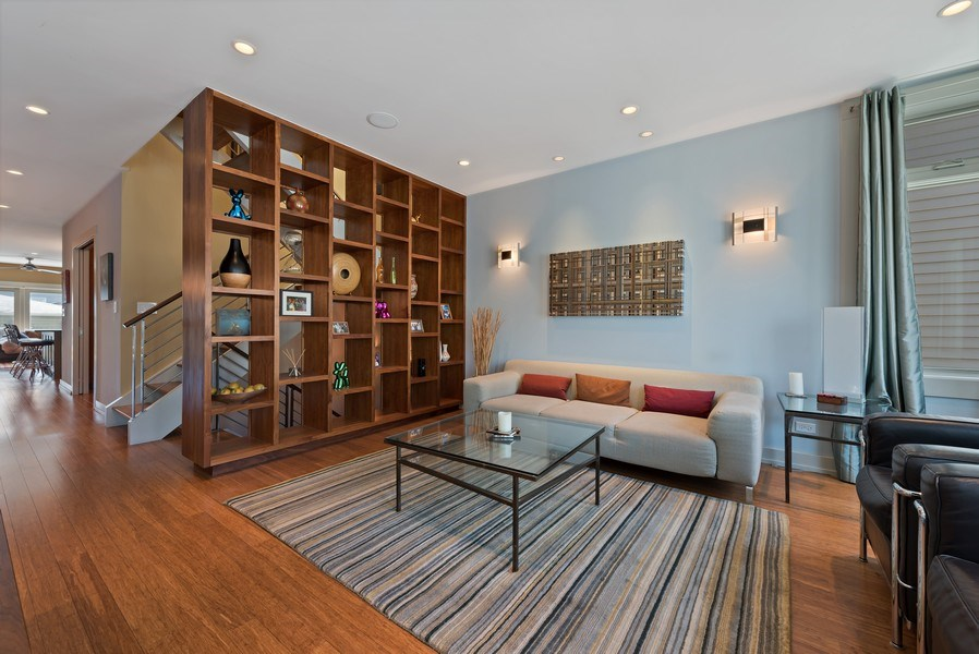 Real Estate Photography - 1651 W. Winona St., Chicago, IL, 60640 - Living Room
