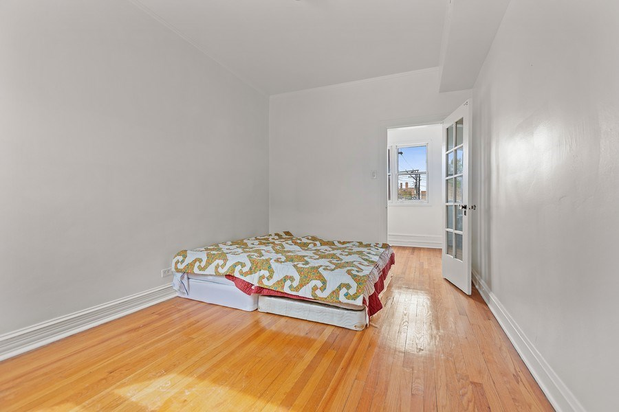 Real Estate Photography - 4114 N Kedzie Ave, Chicago, IL, 60618 - Bedroom