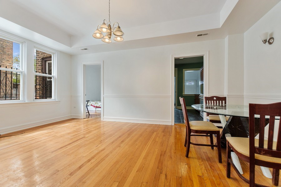 Real Estate Photography - 4114 N Kedzie Ave, Chicago, IL, 60618 - Dining Room