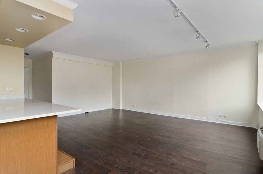 Real Estate Photography - 1455 N Sandburg Terrace, Unit 804, Chicago, IL, 60610 - Living Room