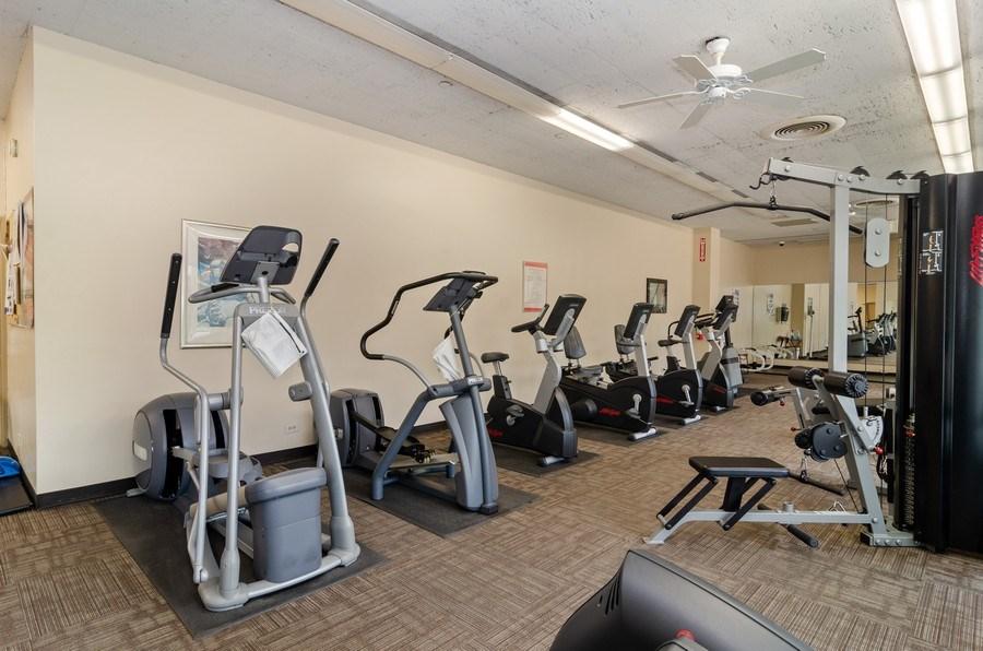 Real Estate Photography - 1455 N Sandburg Terrace, Unit 804, Chicago, IL, 60610 - Fitness Center