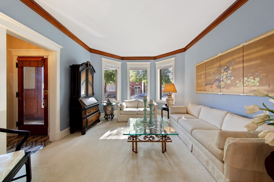 Real Estate Photography - 3224 S Union Avenue, Chicago, IL, 60616 - Living Room