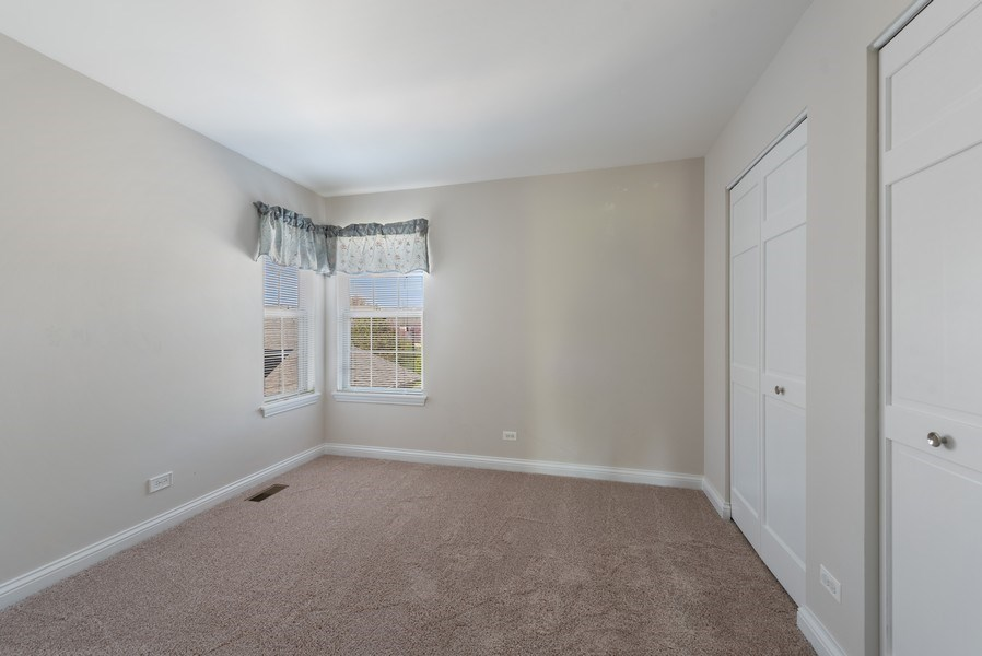 Real Estate Photography - 2632 Violet, Glenview, IL, 60026 - 2nd Bedroom
