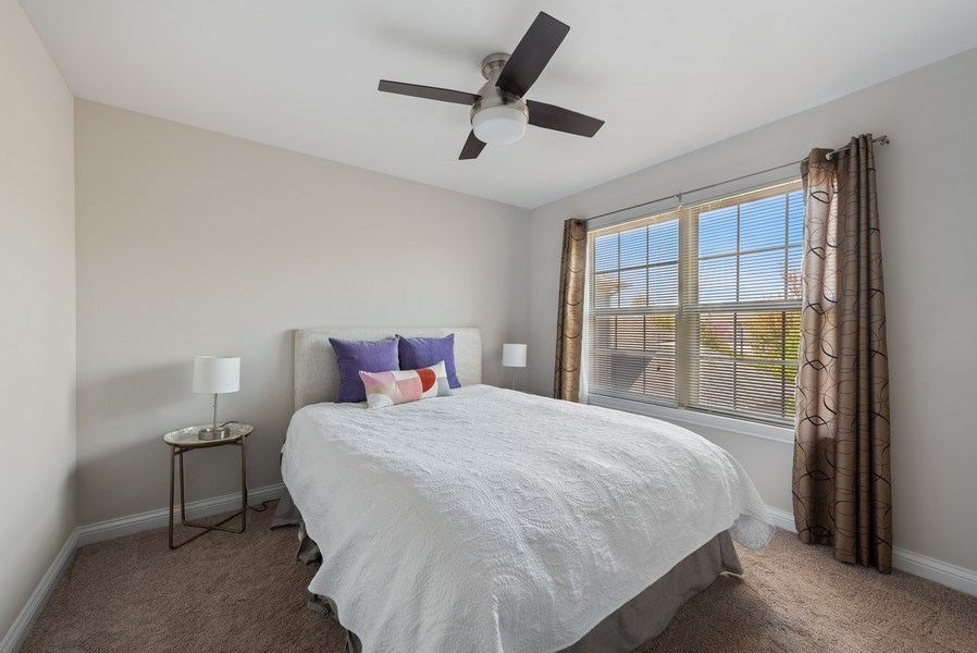 Real Estate Photography - 2632 Violet, Glenview, IL, 60026 - 3rd Bedroom