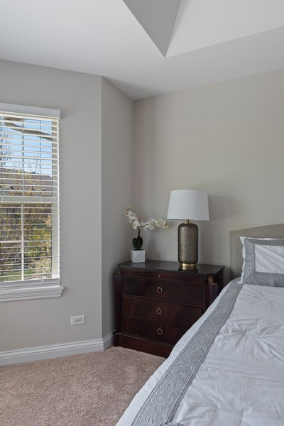 Real Estate Photography - 2632 Violet, Glenview, IL, 60026 - Master Bedroom