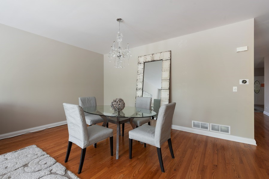 Real Estate Photography - 2632 Violet, Glenview, IL, 60026 - Dining Room