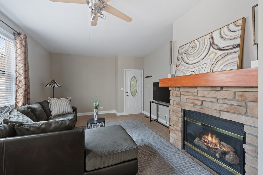 Real Estate Photography - 2632 Violet, Glenview, IL, 60026 - Family Room