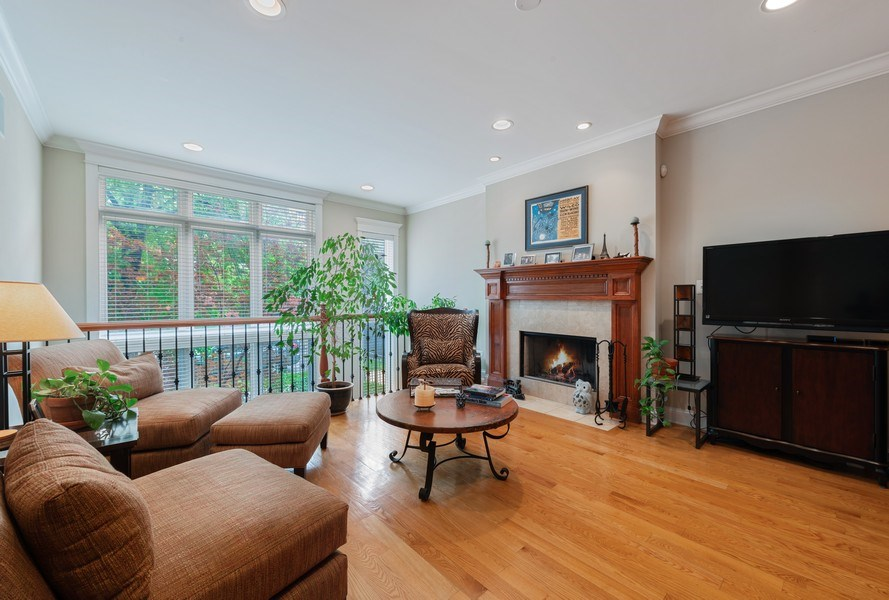 Real Estate Photography - 3316 North Clifton Ave, Unit 1, Chicago, IL, 60657 - Living Room