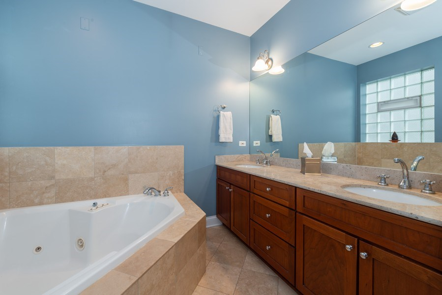 Real Estate Photography - 3316 North Clifton Ave, Unit 1, Chicago, IL, 60657 - Master Bathroom