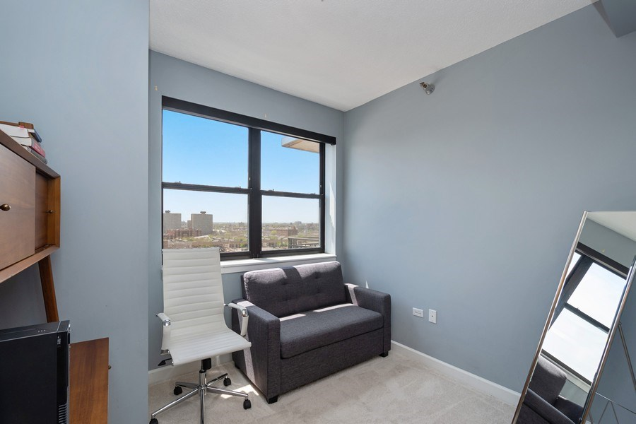 Real Estate Photography - 1529 S State St, Unit 13B, Chicago, IL, 60616 - Bedroom