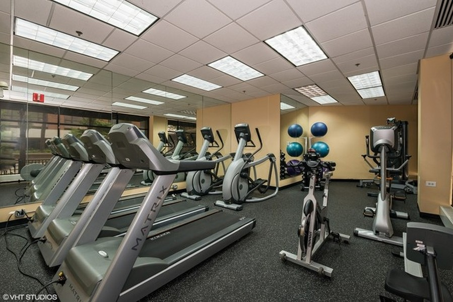 Real Estate Photography - 1529 S State St, Unit 13B, Chicago, IL, 60616 - Fitness Center