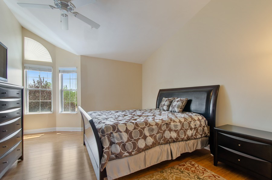 Real Estate Photography - 8007 Lincoln Ave, Skokie, IL, 60077 - Master Bedroom