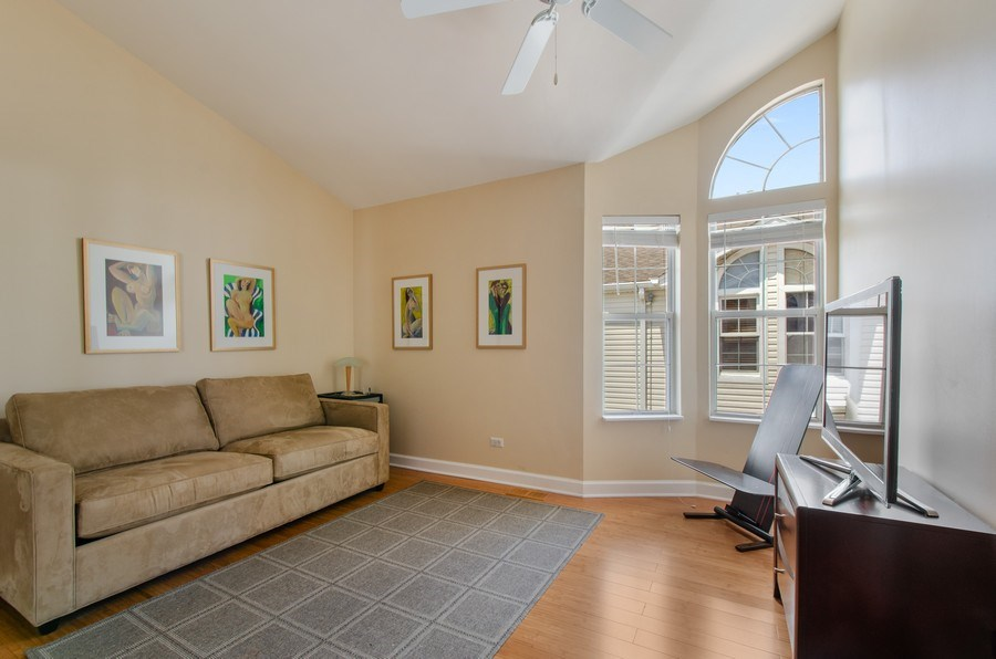 Real Estate Photography - 8007 Lincoln Ave, Skokie, IL, 60077 - 2nd Bedroom