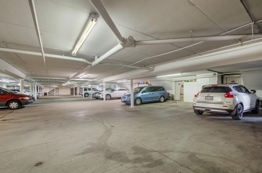 Real Estate Photography - 8007 Lincoln Ave, Skokie, IL, 60077 - Garage