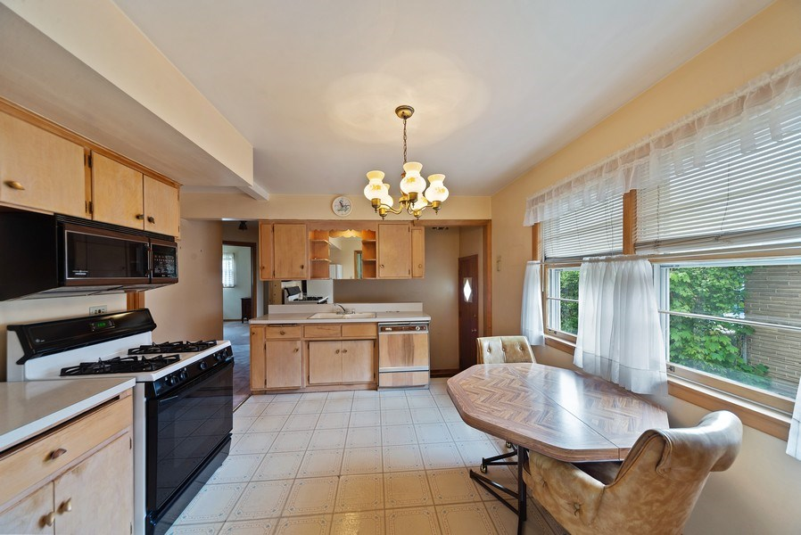 Real Estate Photography - 5011 N Octavia Ave., Harwood Heights, IL, 60706 - Kitchen