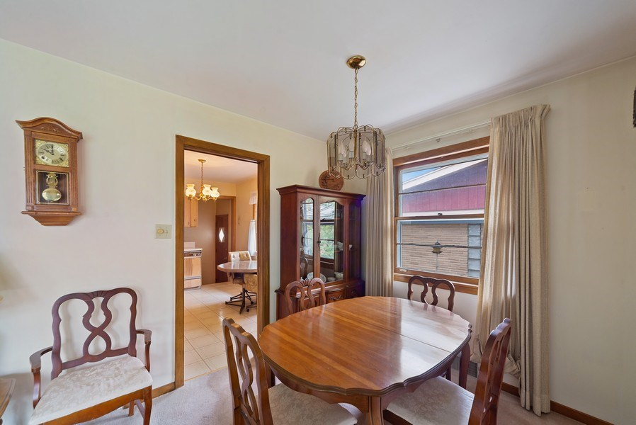Real Estate Photography - 5011 N Octavia Ave., Harwood Heights, IL, 60706 - Dining Room