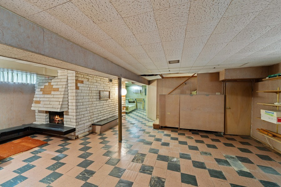 Real Estate Photography - 5011 N Octavia Ave., Harwood Heights, IL, 60706 - Basement