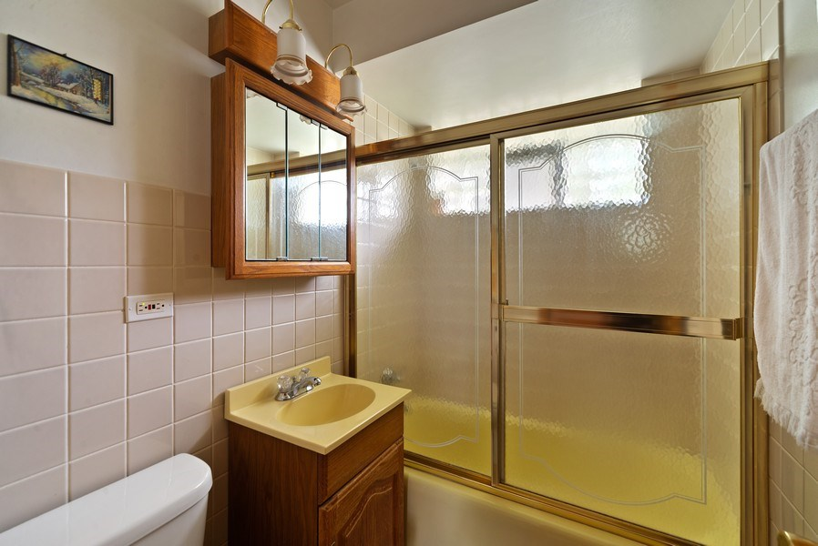 Real Estate Photography - 5011 N Octavia Ave., Harwood Heights, IL, 60706 - Bathroom