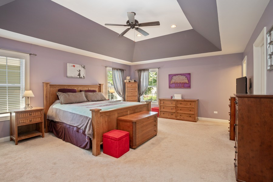 Real Estate Photography - 928 S Dunton, Arlington Heights, IL, 60005 - Master Bedroom