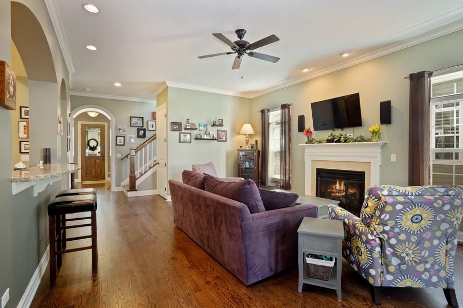 Real Estate Photography - 928 S Dunton, Arlington Heights, IL, 60005 - Living Room