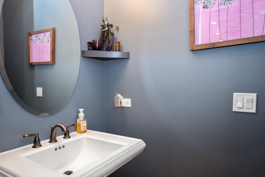 Real Estate Photography - 928 S Dunton, Arlington Heights, IL, 60005 - Powder Room