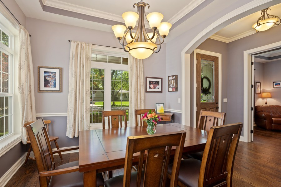 Real Estate Photography - 928 S Dunton, Arlington Heights, IL, 60005 - Dining Room