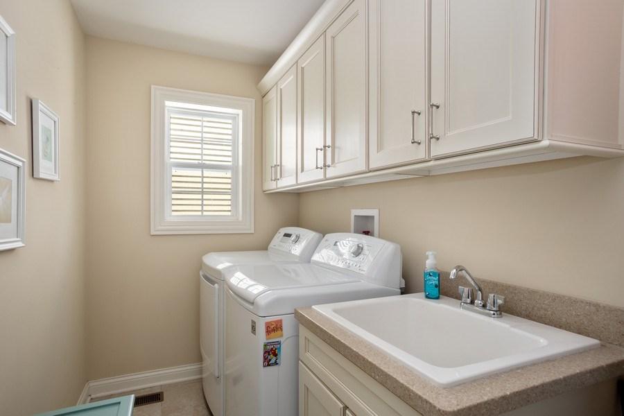 Real Estate Photography - 928 S Dunton, Arlington Heights, IL, 60005 - Laundry Room