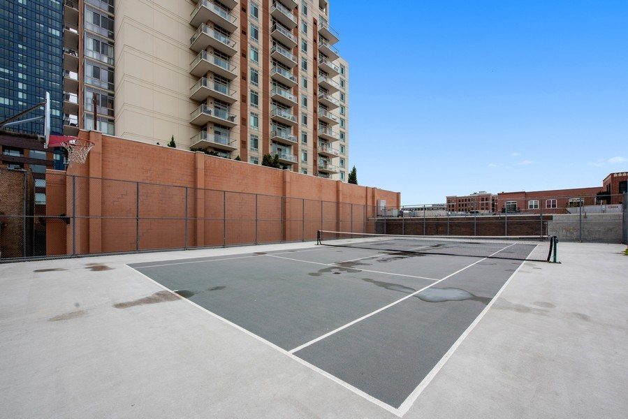 Real Estate Photography - 1212 N Wells Street, Unit 1404, Chicago, IL, 60610 - Tennis Court