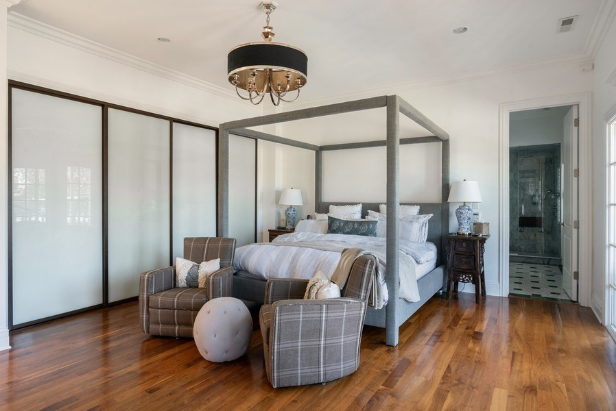 Real Estate Photography - 4200 N Oakley, Chicago, IL, 60618 - Master Bedroom