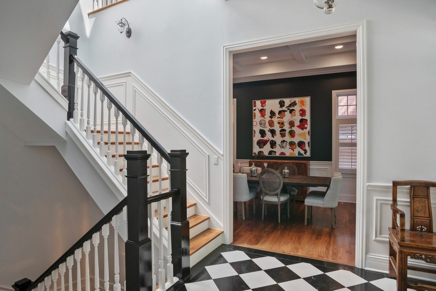 Real Estate Photography - 4200 N Oakley, Chicago, IL, 60618 - Foyer