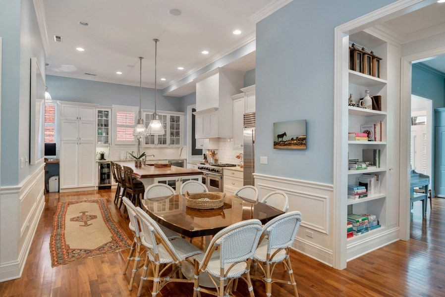 Real Estate Photography - 4200 N Oakley, Chicago, IL, 60618 - Breakfast Area
