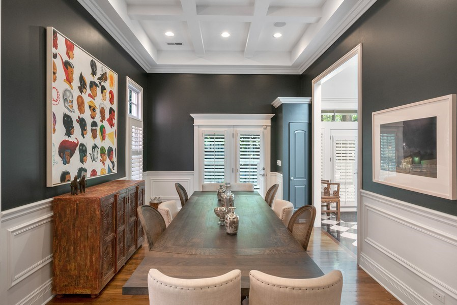 Real Estate Photography - 4200 N Oakley, Chicago, IL, 60618 - Dining Area