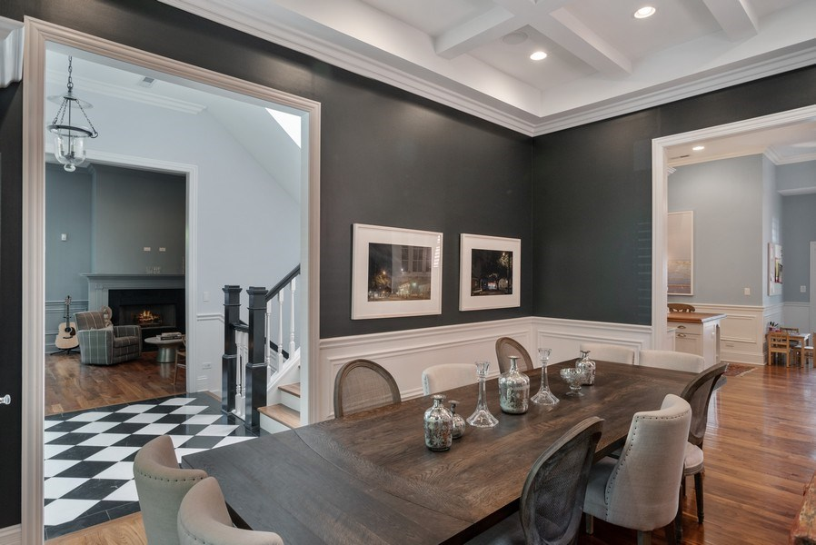 Real Estate Photography - 4200 N Oakley, Chicago, IL, 60618 - Dining Room