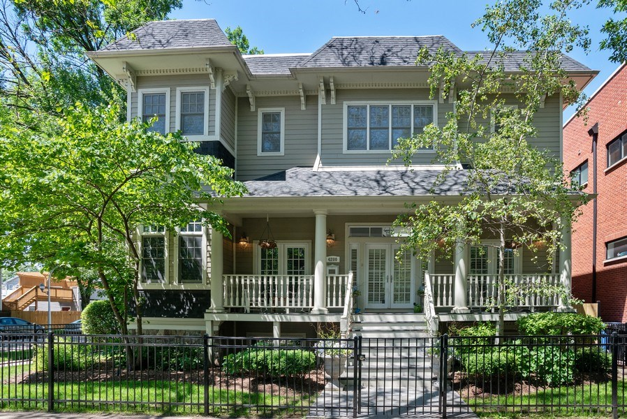Real Estate Photography - 4200 N Oakley, Chicago, IL, 60618 - Front View