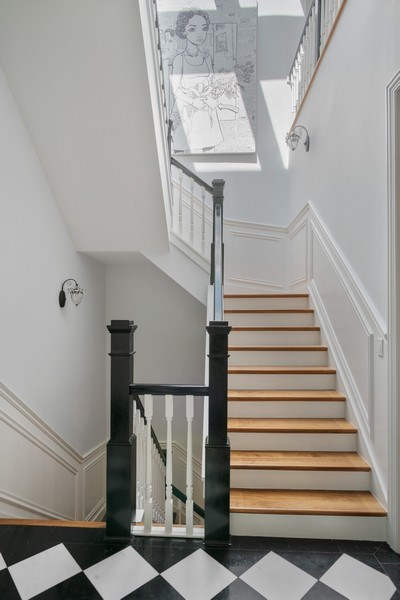 Real Estate Photography - 4200 N Oakley, Chicago, IL, 60618 - Staircase