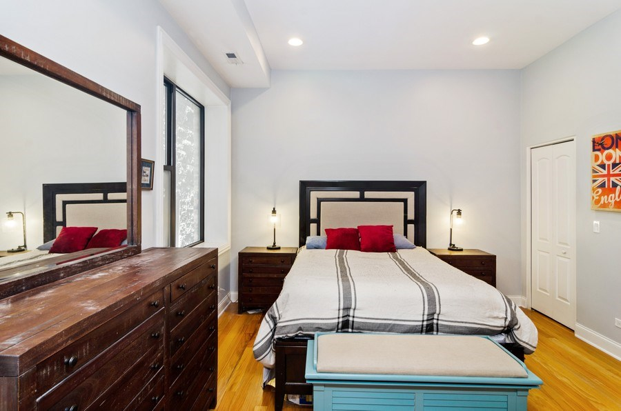 Real Estate Photography - 1064 N Milwaukee, 2W, Chicago, IL, 60642 - Master Bedroom