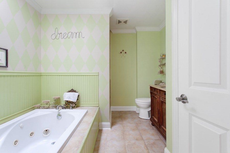 Real Estate Photography - 18 Highridge Rd, Willowbrook, IL, 60527 - Master Bathroom