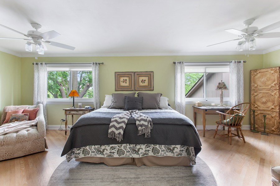 Real Estate Photography - 18 Highridge Rd, Willowbrook, IL, 60527 - Master Bedroom