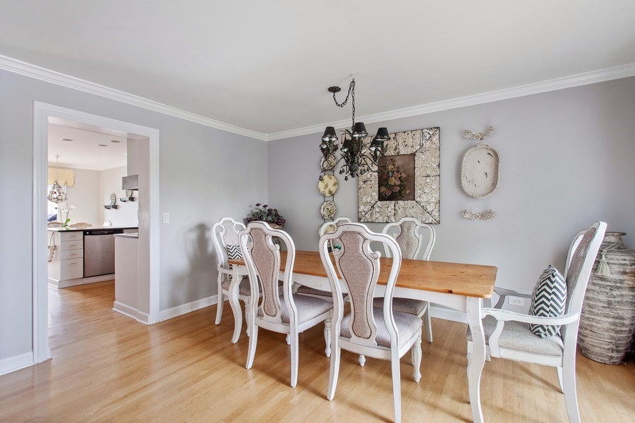 Real Estate Photography - 18 Highridge Rd, Willowbrook, IL, 60527 - Dining Area