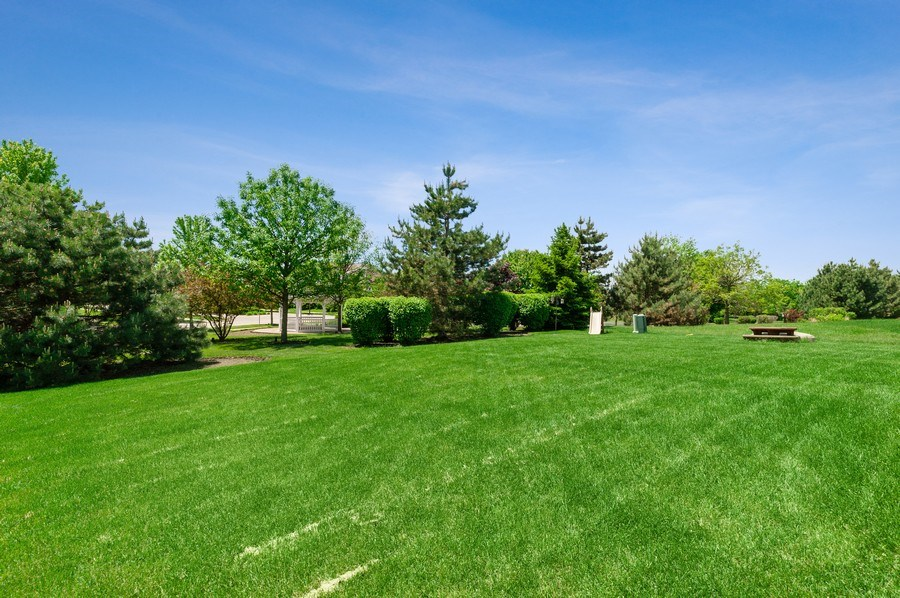 Real Estate Photography - 904 Chopin Place, Volo, IL, 60073 - Back Yard