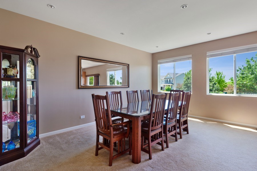 Real Estate Photography - 904 Chopin Place, Volo, IL, 60073 - Dining Area 2