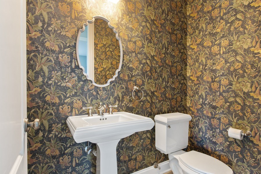 Real Estate Photography - 410 Traube Ave., Clarendon Hills, IL, 60514 - Powder Room