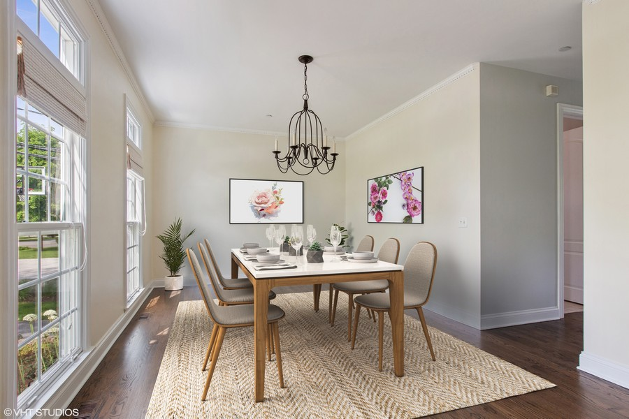 Real Estate Photography - 410 Traube Ave., Clarendon Hills, IL, 60514 - Dining Room